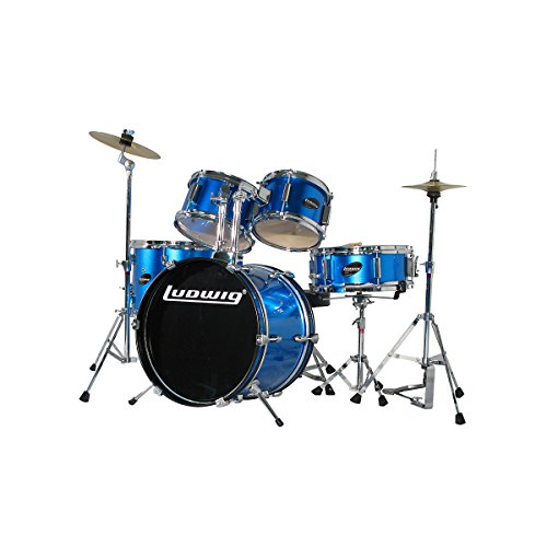 Ludwig-Junior-5-Piece-Drum-Set-with-Cymbals-Blue-0