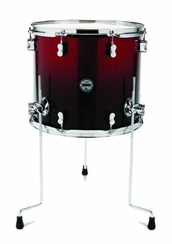 Pacific drums pdcm1618ttrb 16 x 18 inches floor tom with for 18 inch floor tom for sale
